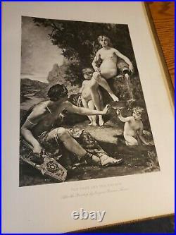1892 Antique/Vintage Book Mythology And The Siege Of Troy MK Halevy (Volume 1)