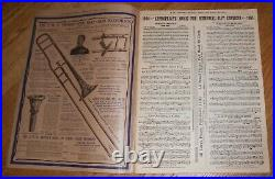1905 Vintage Issue J. W. Pepper's Musical Times Instrument Catalog & Band Journal