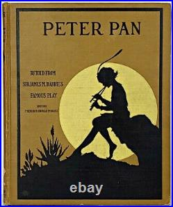 1916 PETER PAN AND WENDY Antique FIRST EDITION Childrens J. M. BARRIE vtg Disney