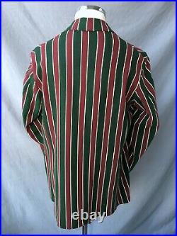 1920's British Blazer Vtg Flannel Antique Sports Jacket 1920s English Jacket s/m
