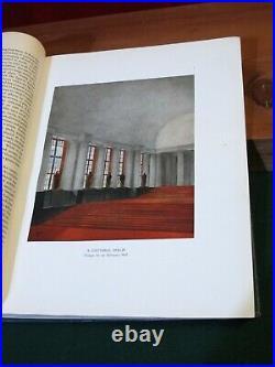 1923 MODERN INTERIORS Design 120 COLOR plates SCHEME Decor Architect Antique vtg