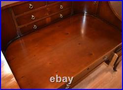 1960s vintage Hekman English Regency Mahogany Desk