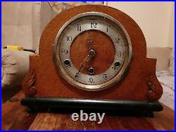 Antique English Mantle Clock, Westminster chiming