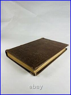 Antique LDS Mormon Latter-Day Pamphlets Book London 1858 model Prisons vintage