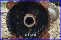 Antique Vintage Brass Water Pump G Thurlow & Sons Stowmarket