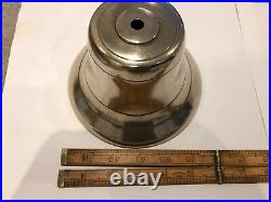 Antique Vintage Cast Brass Electric Door Bell, mid 1930's from a private school