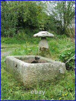 Antique Vintage Cornish TROUGH PLANTER Stone Architectural Garden STUNNING ITEM