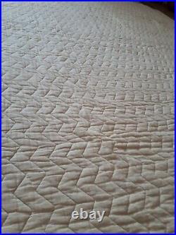 Antique/Vintage Quilt, Paisley Lovely 221 X 186 cm