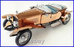 Art Deco Antique Vintage Mid-Century Rolls Royce Rare Copper Body Car 1930-1940s