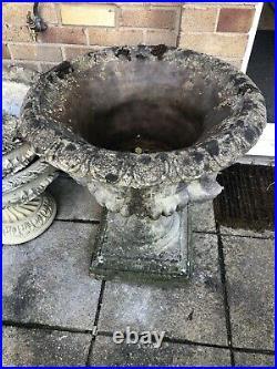 BIG VINTAGE GARDEN URN Over 30 Years Old Garden Urn