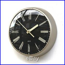 ENGLISH 1960s GENTS' Midcentury Vintage Industrial Factory Wall Clock