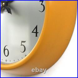 ENGLISH 1960s Post Office Midcentury Vintage Industrial Factory Wall Clock