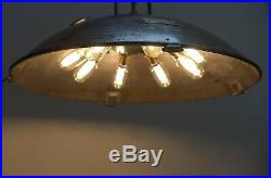 Elm Works Wartime Operating Theatre Lamp / Vintage Medical Lamp. English 1945