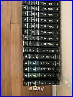 Encyclopedia Britannica 15th Edition 1991 33 Books, Event Antique Vintage