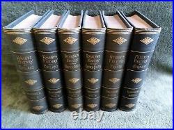Guizot Muller Lossing Knight Antique Vintage History Books FULL SET RARE