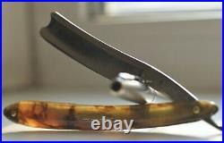 I PEARCE 15 ANGEL ST. Vintage antique English razor. SHEFFIELD. ENGLAND. 13/16