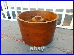 Industrial Oak Factory Casting Impression Mould. Vintage/Interiors/Wine Rack
