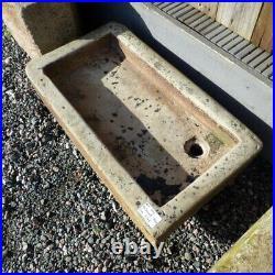 Large Reclaimed Antique Vintage Stone Sink Basin Garden Planter Rwi5073