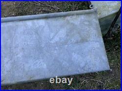 Large Vintage Galvanised Water Trough Salvage