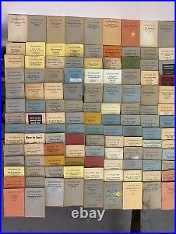 Little Blue Book LOT 518 Vintage Antique Books Collection