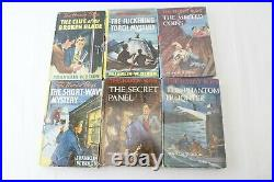Nice 36 VOL. SET Vintage Hardy Boys Yellow Spines. Antique and Rare Lot withDJ