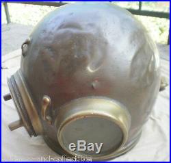 Old vintage English HEINKE Pearlier Diving Helmet, about 1900