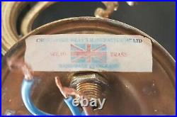 Pair of Solid Brass Christopher Wray Vintage English Wall Lights