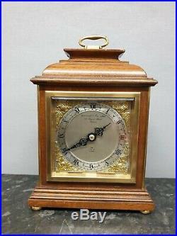 Quality English Vintage Garrard 8 Day Mantle Clock with Elliott Movement
