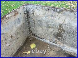 Reduced! Retro Vintage Steel Tank Trough Sink Herb Planter Cottage Garden