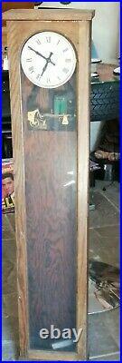 Second Pendulum Masterclock 1950 English Clock System Ltd London