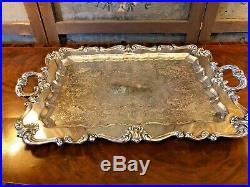 Spectacular Vintage English Sheffield Silver Plate 6 piece Coffee & Tea Service