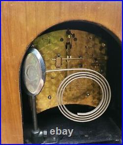 Stunning Vintage Garrard English made Mantel Clock Art Deco