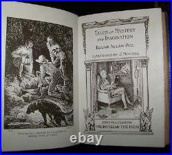 TALES OF MYSTERY & IMAGINATION/EDGAR ALLAN POE Vintage/Antique Fine Binding