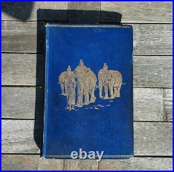 THE JUNGLE BOOK Rudyard Kipling 1st Edition Antique Vintage Original Book