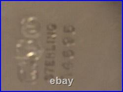 VINTAGE STERLING SILVER LARGE BOWL ENGLISH HALLMARKS 10.83 Troy Oz