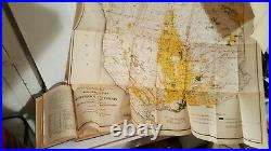 VTG 1913 USDA Irrigation Resources of CALIFORNIA bulletin 254 with 9 foldout maps