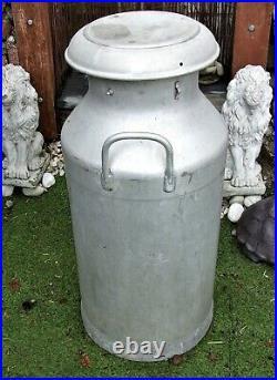 Vintage 10 Gallon Aluminium Milk churn Alloy Milk Churn DAIRY SUPPLY CO LTD