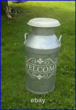 Vintage 10 Gallon Milk Churn