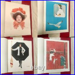 Vintage 1911 Coles Phillips'A Gallery of Girls' Picture Art Book Antique Rare
