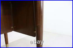 Vintage Abbess English Teak Desk Retro Industrial Desk Home Office Furniture
