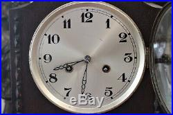 Vintage Art Deco English 8-Day Movement Granddaughter Striking Clock