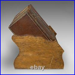 Vintage Asprey's Reference Library, English, Leather, Compendium, 8 Books, 1925