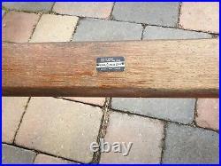 Vintage Branson Burbage 2 x Benches & Table. English, Hardwood, 20th c RARE