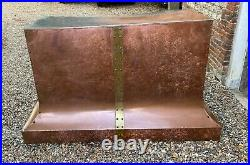 Vintage Copper Canopy/Hood/Great Condition/Large
