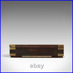 Vintage Countertop Display Case, English, Pine, Shop Showcase Cabinet, Late 20th