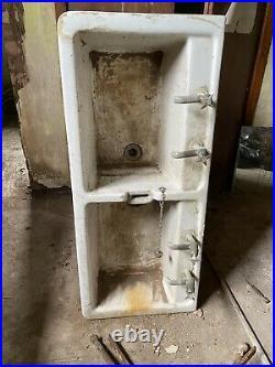 Vintage Double Belfast Butler Sink 1959