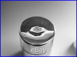 Vintage ENGLISH Silver Plate HARRODS Cocktail Shaker 11 1/4