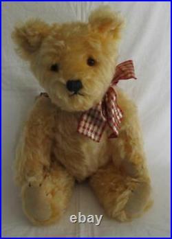 Vintage English Musical Mohair Teddy Bear