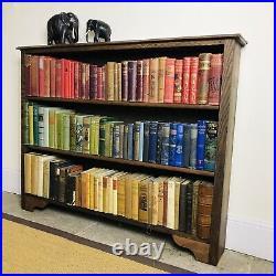 Vintage English Oak Bookcase
