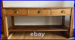 Vintage English Pine Potboard Dresser